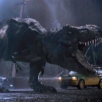The Park remains without electricity and the T-Rex attacks the Jeeps