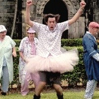 Ace Ventura played by Jim Carrey