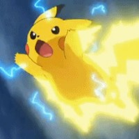 Pikachu throws thunder at her and betrays her