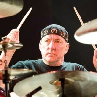 Neil Peart in Rush's Tom Sawyer