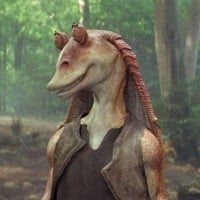 Jar Jar Binks (Ahmed Best) - Star Wars: Episode I - The Phantom Menace