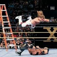 Razor Ramon vs Shawn Michaels - Ladder Match - Wrestlemania X