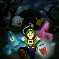Luigi's Mansion Shooting Gallery Ride