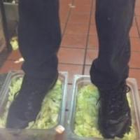 Burger King Foot Lettuce