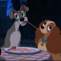 Belle Notte Spaghetti Scene