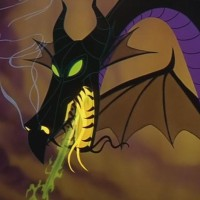 Maleficent Turns Into a Dragon