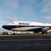 British Airways BOAC livery