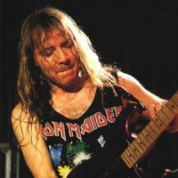 Dave Murray- Iron Maiden