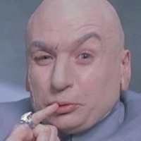 Dr. Evil in the Austin Powers movies