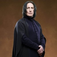 Severus Snape (Alan Rickman) - Harry Potter and the Deathly Hallows: Part 2