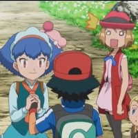 When she got angry at Miette for asking Ash on a date (when Serena had already asked Clemont!) (Ep. 105)