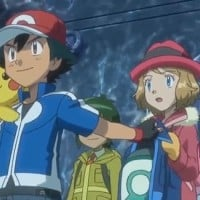 When she acted as a personal clothes valet for Ash. (Ep. 120)