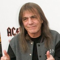 AC/DC guitarrist Malcolm Young worked in a bra factory