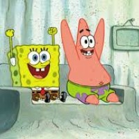 Spongebob and Patrick annoy her so much that her ears explode