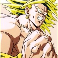 Broly from Dragon Ball Z