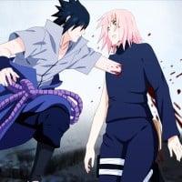 Sasuke and Sakura - Naruto