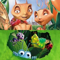 'Antz' and 'A Bug's Life'