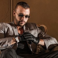 Kollegah: a former milksob and wannabe pimp trying to sound thug because he now has muscles and a beard
