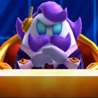 Max Profitt Haltmann (is rich enough to single-handedly conquer and mechanize the entire universe at a rate that puts even Dr. Eggman to shame while also having a humongous robot suit made out of gold and diamonds) - Kirby: Planet Robobot