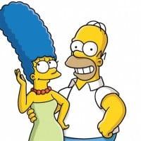 Homer & Marge Simpson