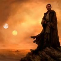 Obi Wan Kenobi on Tatooine