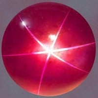 The DeLong Star Ruby