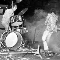 Keith Moon put pyro in his bass drum to cause explosions