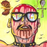 GG Allin cut himself and ate his own feces